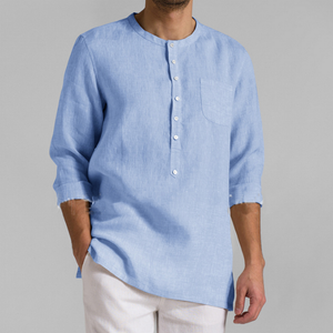 Casual Half Placket Shirt