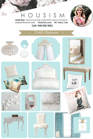 Curated Kid's Bedrooms - Feminine Themes