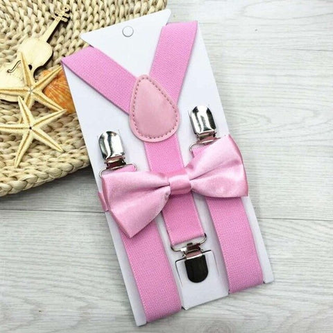 Suspenders Bow Tie set