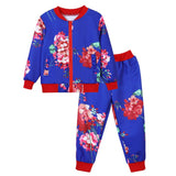 2pcs Pantsuit  For Kids 2-10yr