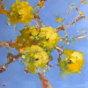 A painting of lemons