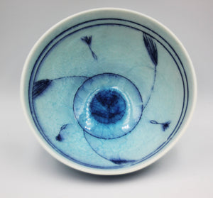 """Blue Caledon Bowl - Small"""