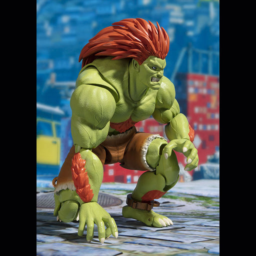 Street Fighter S.H.Figuarts Blanka - Toy Titanz