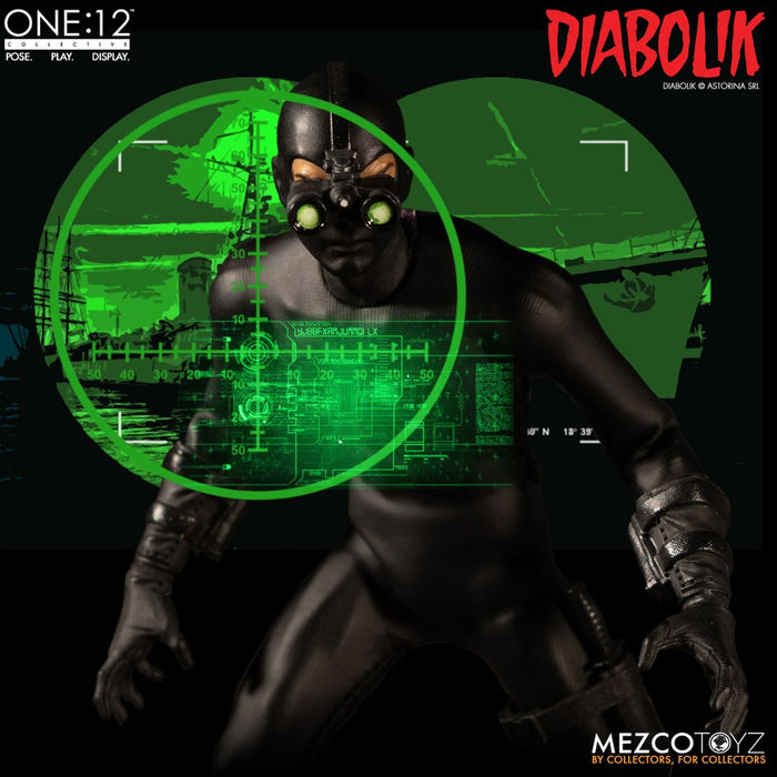 Mezco Toyz One:12 Collective - Diabolik - Toy Titanz