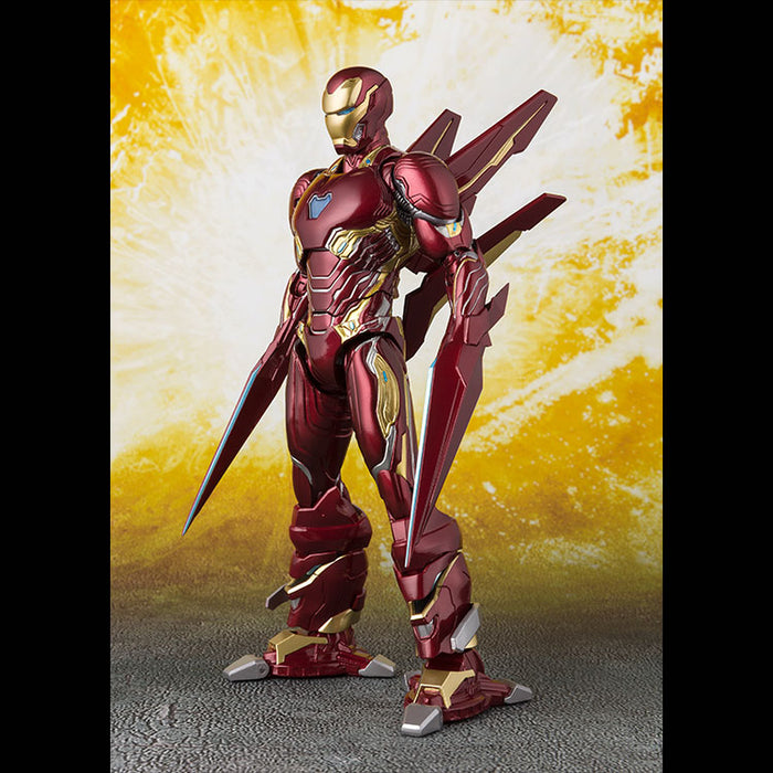 Iron Man Mk50 Nano Weapon Set S.H.Figuarts (Infinity War Ver.) - Toy Titanz