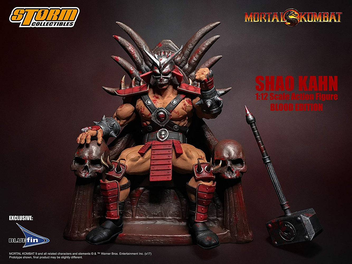 Shao Kahn Special Edition Bloody Variant - Toy Titanz