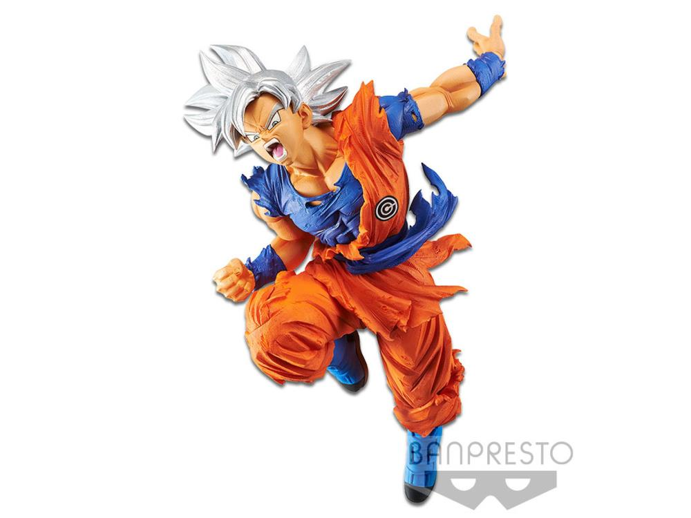 Super Dragon Ball Heroes Transcendence Art Vol. 4 Ultra Instinct Goku - Banpresto - Toy Titanz