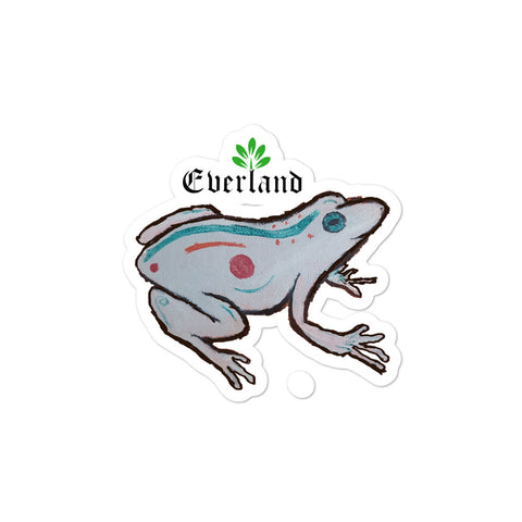 Cheese frog sticker