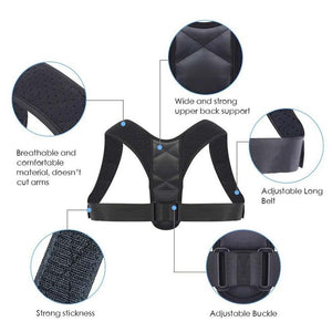 BodyWellness™ Posture Corrector (Adjustable to Multiple Body Sizes)