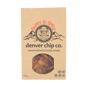 Sweet & Spicy Potato Chips, Local