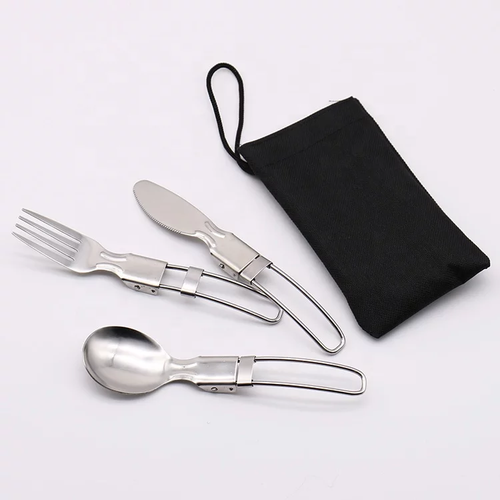 Mini Folding Cutlery Set