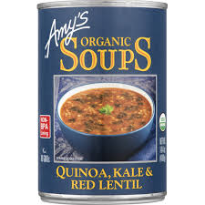 Quinoa, Kale & Red Lentil Soup