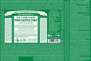 Pure-Castile Soap - Almond