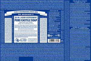 Pure-Castile Soap - Peppermint