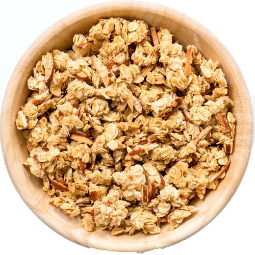 Reduced Sugar Cinnamon Granola