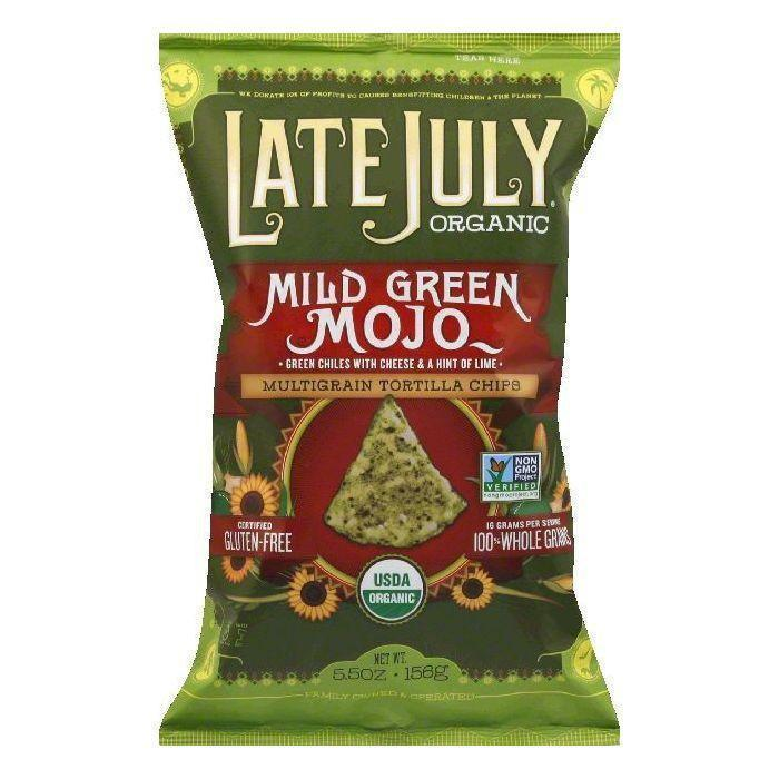 Green Mojo Tortilla Chips