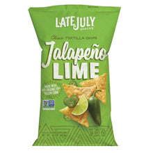 Load image into Gallery viewer, Jalapeno Lime Tortilla Chips