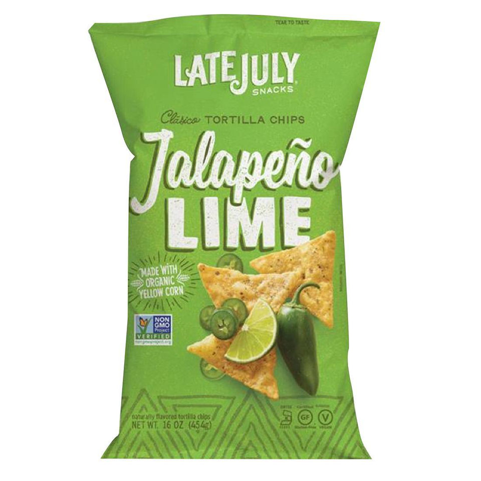 Jalapeno Lime Tortilla Chips