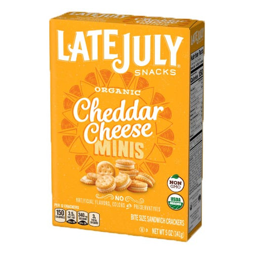 Cheddar Cheese Sandwich Crackers