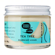 Deodorant Cream - Tea Tree