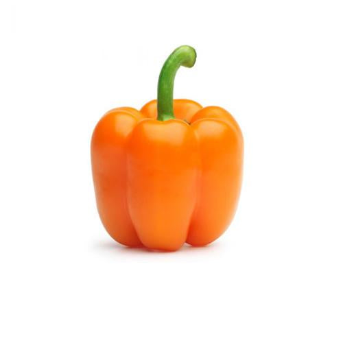 Orange Pepper, Organic