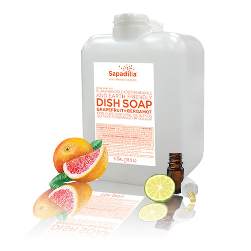 Dish Soap - Grapefruit + Bergamot