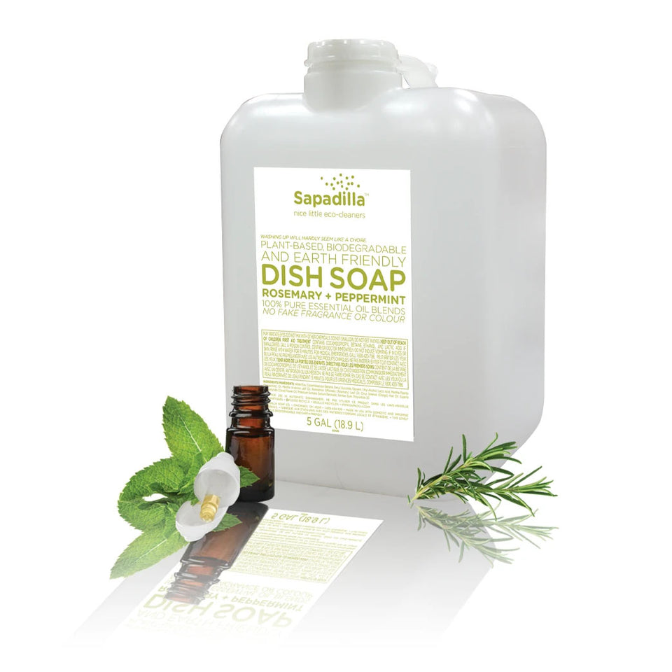 Dish Soap - Rosemary + Peppermint
