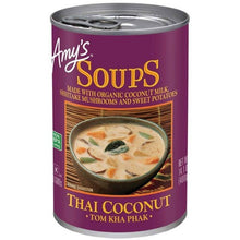 Load image into Gallery viewer, Thai Coconut Soup (Tom Kha Phak)