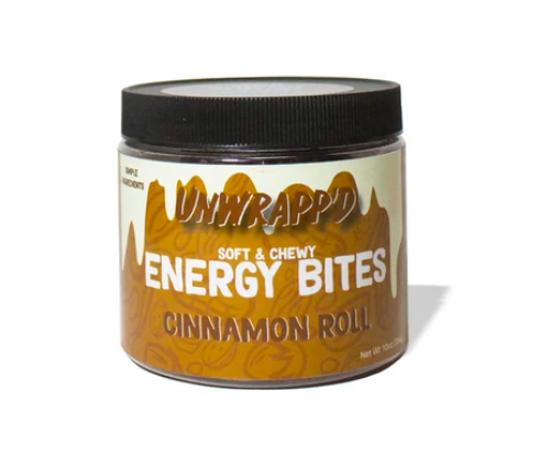 Cinnamon Roll Energy Bites