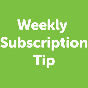 Weekly Subscription - Tip Your Driver