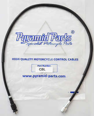 Pyramid Parts Speedo Cable fits: Honda CD125 Benly (Twin) 82-85