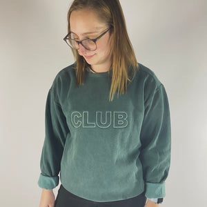 Oversized CLUB Throwback Sweaters