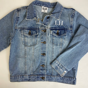 Bride/Wifey Denim Jackets