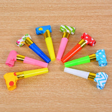 Load image into Gallery viewer, 30PCS 6.5cm MultiDesing Party Blowouts Whistles