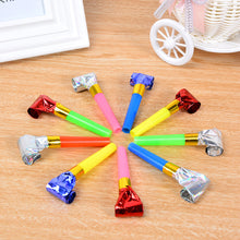 Load image into Gallery viewer, 30PCS Child MultiColor Blowouts Whistles