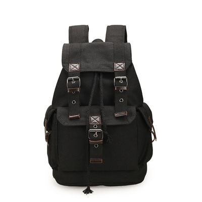 Women Black Laptop Backpack