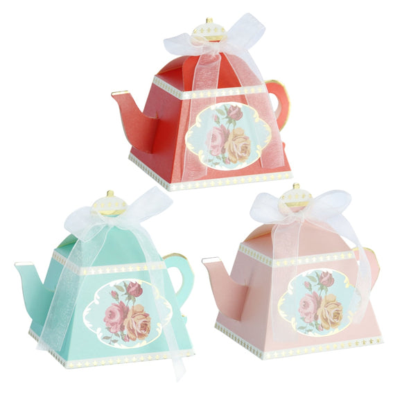 10pcs Teapot Gift Box