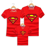 Father Son Matching Clothes Superman Family Tshirt