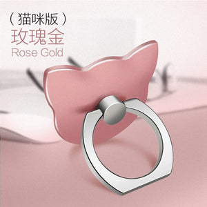 Woman's Phone Universal Poop Sockets