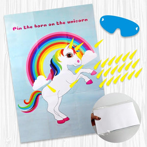 75x51cm Unicorn Party Game Paper
