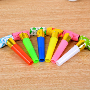 30PCS 6.5cm MultiDesing Party Blowouts Whistles