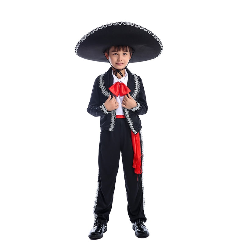 Traditional Mexican Mariachi Amigo Costume