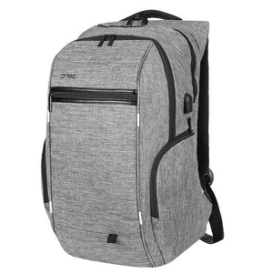 "Slim Backpack w/Laptop Compartment 15"" 17"" & w/USB Charger"