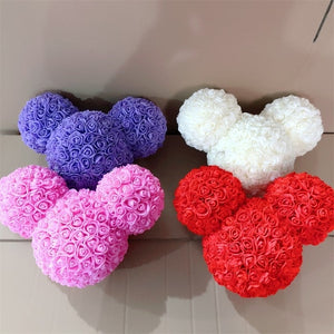 25cm Rose Bear Wedding Party Decoration Valentine's Day Gift