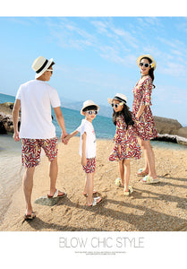 Summer Family matching clothes