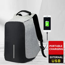 "Load image into Gallery viewer, Backpack w/USB Charging & w/15"" Laptop Compartment"