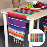 3 Colors Mexican Party Serape Cotton  213X35cm