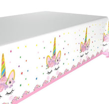 Load image into Gallery viewer, Unicorn Table Cloth Cover 108*180cm