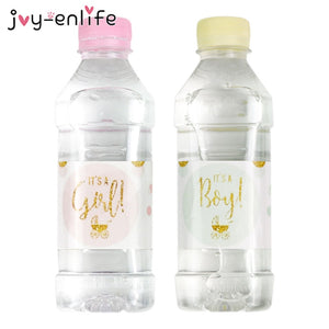 12pcs Baby Shower Bottle Stickers