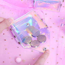 Load image into Gallery viewer, Transparent PVC Coin Purse